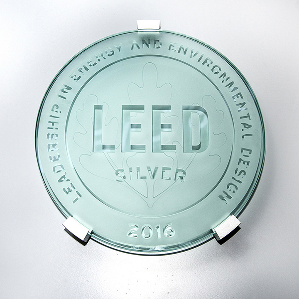 LEED Seal Plaque