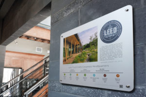 LEED Recognition Plaque